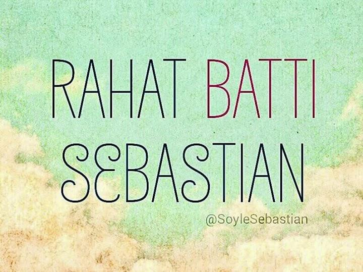 Sebastian Kimdir Nedir?,Sebastian kimdir,Sebastian kim,Sebastian nerden çıktı,Sebastian ne,Sebastian nedir,Sebastian hikayesi,Sebastian tweetleri,Sebastian sözleri,Sebastian yazıları