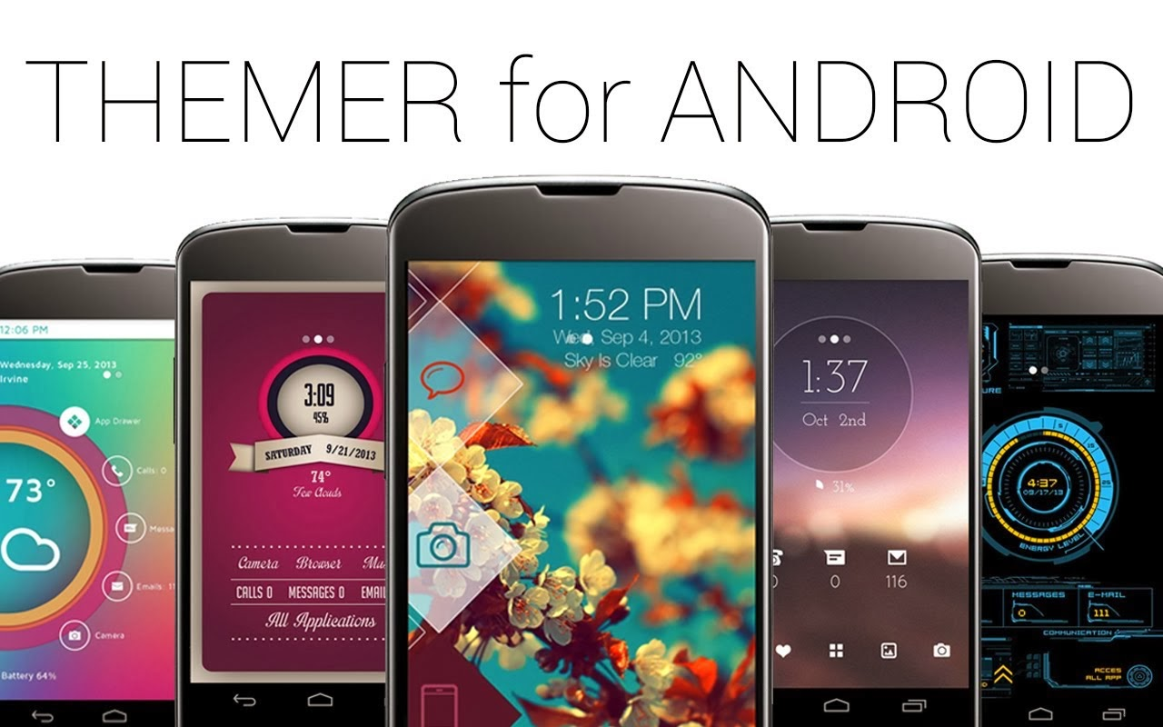 Android Tema Programı , Themer Beta , androidlere tema , Themer Beta indir, android tema indir, android temalar