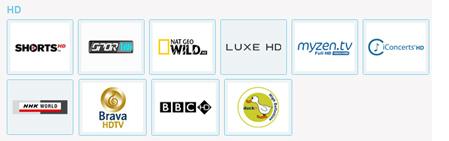 Tivibu Maxi Plus HD Kanal Listesi