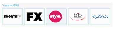 Tivibu Maxi Plus Yaşam - Stil Kanal Listesi